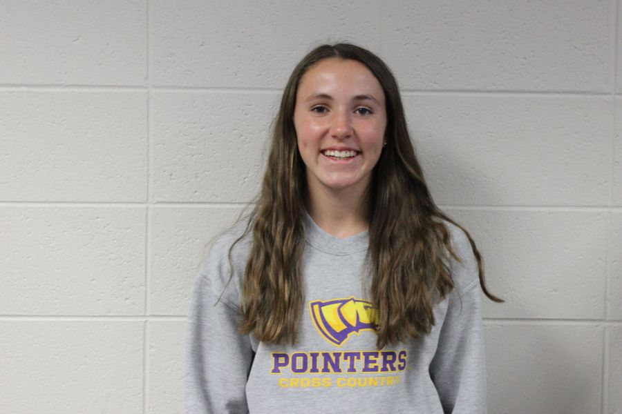 Sydney Squier was named Post Crescent  Cross Country Athlete of Year for her high finishes  and consistency  throughout the season.