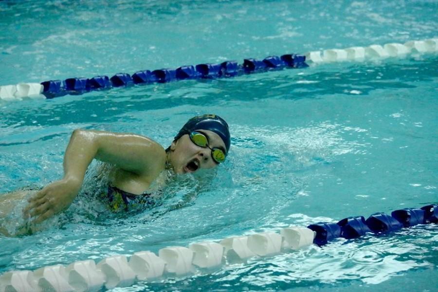 Girls' Swim Team prepares for Conference