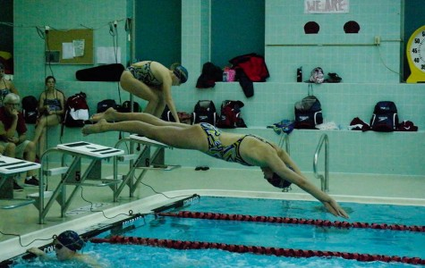 North girls' swim team racks up records