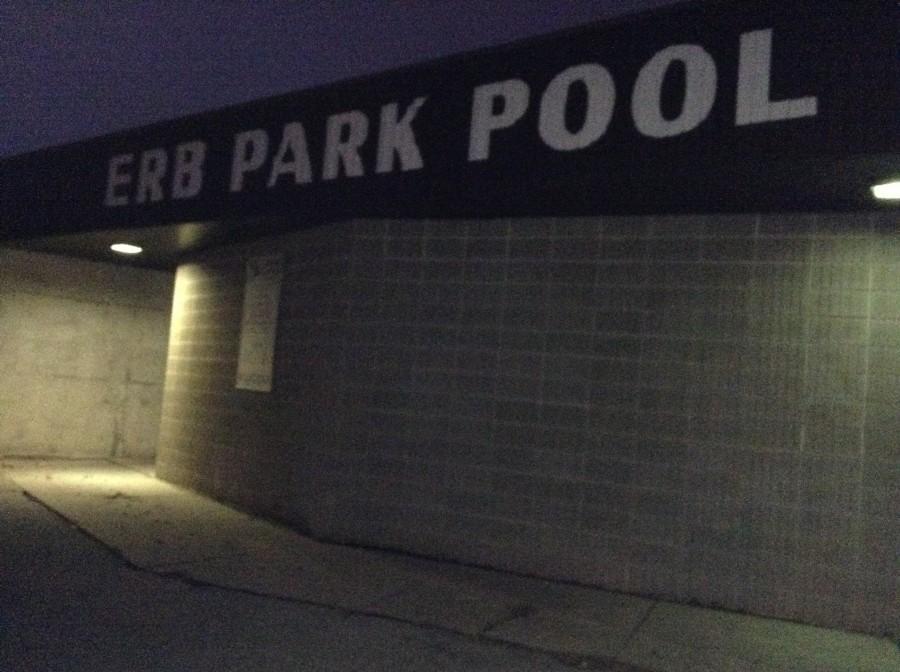 Erb Park pool, not splash pad