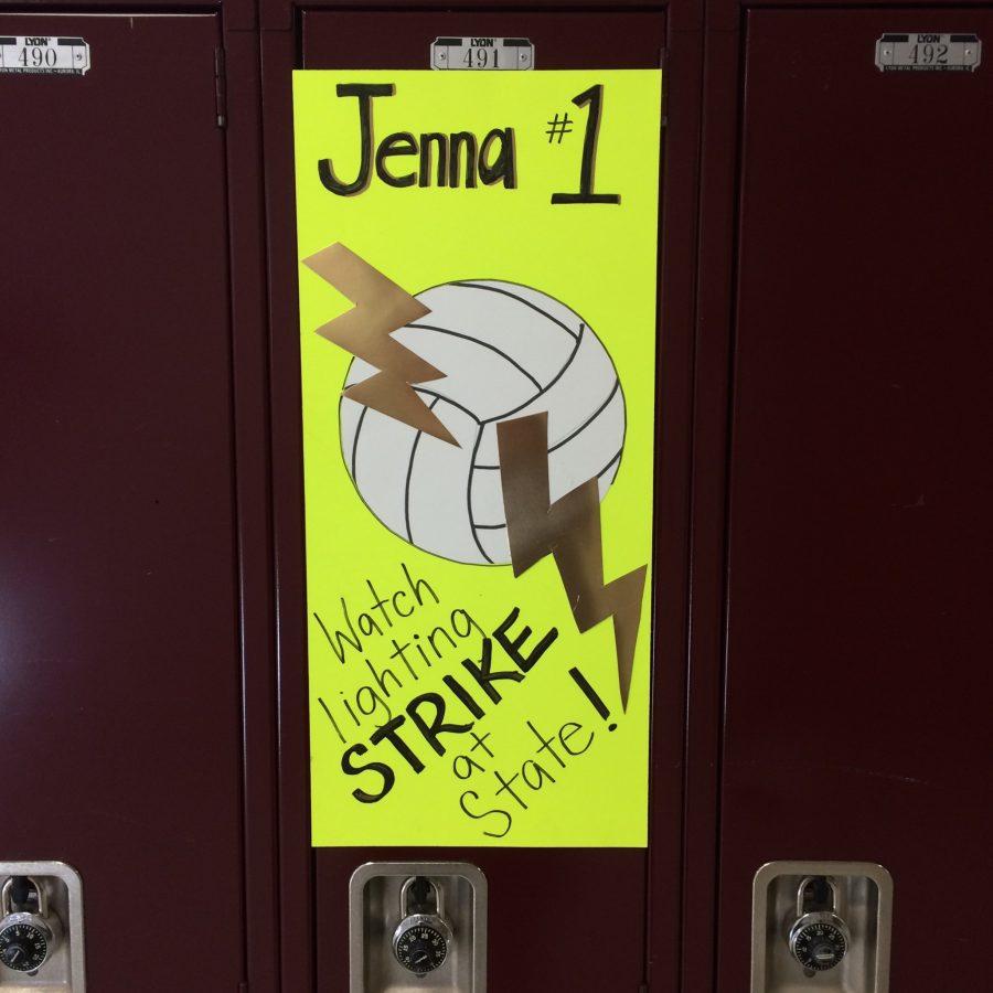 Girls Volleyball Featured Athlete: Jenna Miller