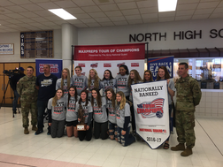 State champion girls basketball team wins MaxPreps award