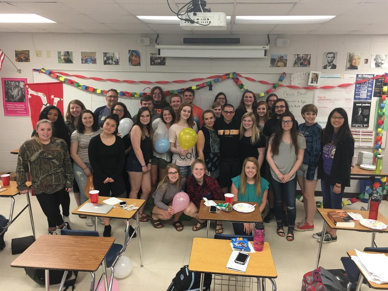 Sociology Class with TA Shay Hendricks