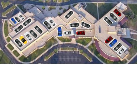 Due to Lack of Parking, Seniors Park on School Roof *April Fools*