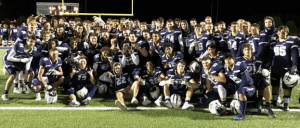 Photo taken by Nate Werner, Athletic Director, of the Appleton North Football team.