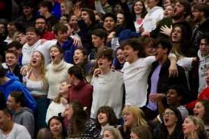 Love-Struck Week Fun from Monday's Pep Rally