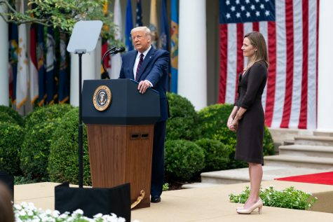 """President Trump Nominates Judge Amy Coney Barrett for Associate Justice of the U.S. Supreme Court"" by The White House is marked with CC PDM 1.0"