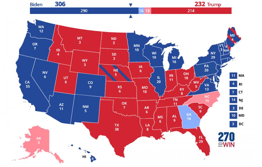 Joe Biden Projected As 46th President