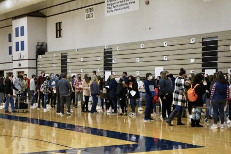 Link Crew welcomes new students to North for hybrid learning