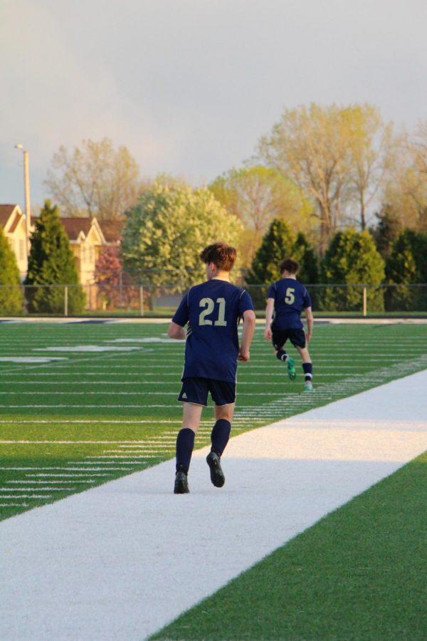 #21 Ben Slovick (Sophomore)